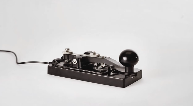 morse code machine, distinct language