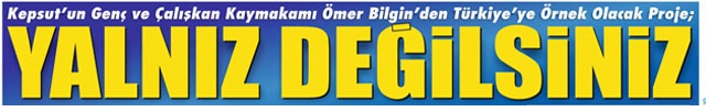 A Newspaper Highlight, <<Yalnız değilsiniz.>>